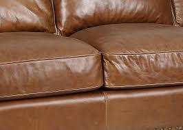 Antique Leather Sofas Trends Coffee Leather Alvardo Sofa In Old World Finish