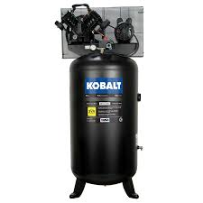 shop kobalt 80 gallon electric vertical air compressor at lowes com
