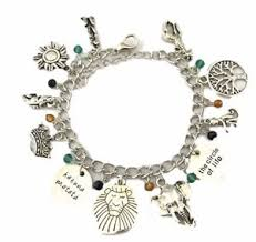 themed charm bracelet disney s the lion king 11 themed charms assorted metal charm