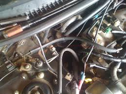 wiring harness and vacuum hoses