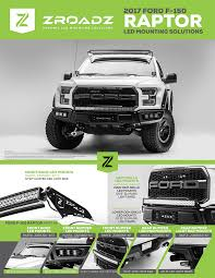 american made led light bar 2017 raptor led mounting solutions now available by zroadz zroadz