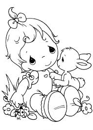 printable 21 precious moments baby coloring pages 7302 precious