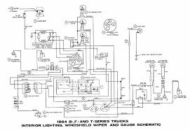 1964 ford truck wiring diagram image details