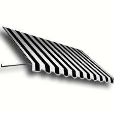 Awntech Awning Shop Awntech 52 5 In Wide X 30 In Projection Black White Stripe