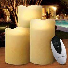 Electric Candles For Windows Decor Realistic Flickering Flameless Window Candles For Your Holiday