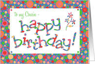 cousin birthday card family birthday cards for cousin from greeting card universe
