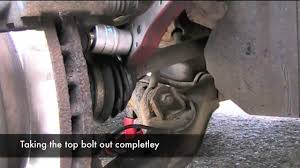 changing brake disks and pads on a nissan primera youtube
