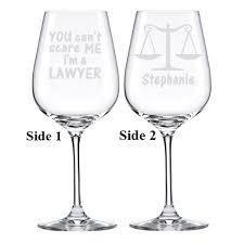 graduation wine glasses lawyer gift lawyer wine glass student gift school