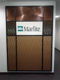 Designer Wall by Marlite Feature Wall With Dimensional Volta And Volta Flex Panels