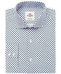 ben sherman men u0027s slim fit navy geo floral dress shirt dress