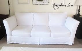 Shabby Chic Slipcovered Sofa Living Room T Cushion Slipcovers Sofa Leather Industrial Style