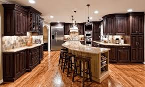 a guide for kitchen island with breakfast bar and granite top