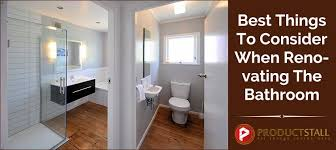 renovating a cer best things to consider when renovating the bathroom productstall
