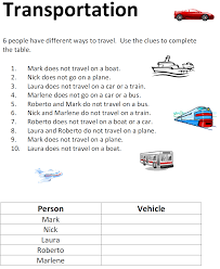 esl logic activities online and printable esl logic