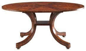 Lillian August Chairs Lillian August Portman Bow Leg Dining Table La82011 01