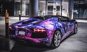 lamborghini aventador purple dxsc custom u201cgalaxy u201d lamborghini aventador distinct hype
