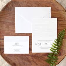 wedding invitation kits woodgrain invite kit walmart