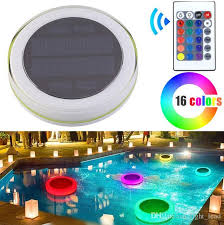 solar swimming pool lights solar led rgb swimming pool light garden party bar decoration