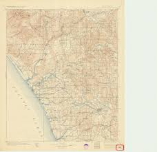 Maps San Diego by Sdag Online Historical Topographic Maps San Diego County
