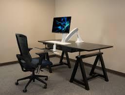 Workfit D Sit Stand Desk by Cadence Standing Desk Converter