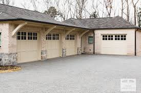 three section carriage style garage doors door architects