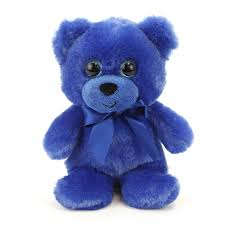 teddy bears blue teddy 6 inch rainbow brights