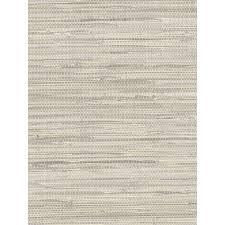 light grey faux grasscloth wallpaper pa34211 all 4 walls wallpaper