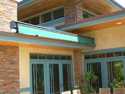 Roof Mounted Retractable Awning Lateral Arm Retractable Awnings Made In The Shade Awnings