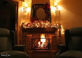 file christmas fireplace jpg wikipedia