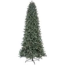 ge 9 ft led indoor just cut deluxe aspen fir artificial
