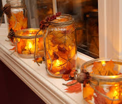 decoration thanksgiving to make fall mason jar lanterns i u0027d just like to see these in a