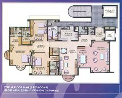Three Bedroom Apartment Floor Plan by 3 Bedroom Flat Plan Latest Gallery Photo