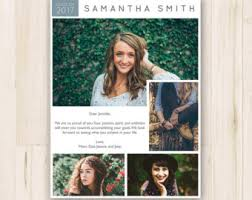 senior yearbook ad templates yearbook ad etsy