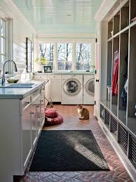 interior design make a pleasure washing time with laundry room