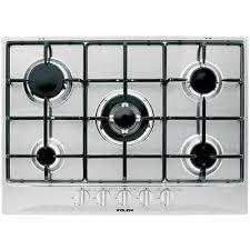 glem piani cottura glem gas inc piano cottura p5gfxv 5f 70 cm inox it casa