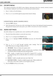 osha technical manual noise tr 0133 e xl 200p multi band portable land mobile radio user