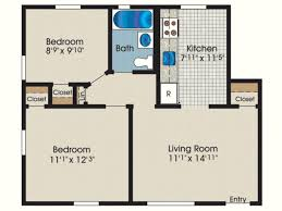 download small 1 bedroom apartment floor plans home intercine