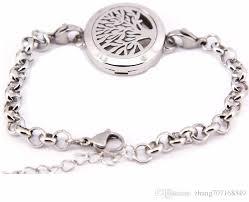 s charm bracelet 2016 new fashion aromatherapy bracelet 316l s steel essential oils
