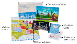 Iowa Usa Map by Discovery Kits For Kids Usa U0026 Geography Subscriptions For Kids