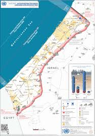 Map Of The Strip Palestine Political Geography Of The Gaza Strip A Territory