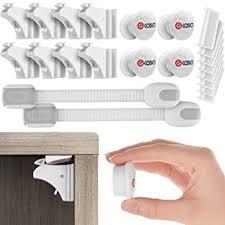 best baby cabinet locks amazon com best baby safety magnetic cabinet locks 8 locks 4
