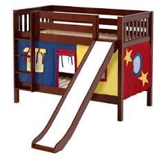 Castle Bunk Bed With Slide Wood Tent Bunk Beds Princess Castle Bunk Beds