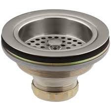 Kitchen Sink Drain by Delta 4 1 2 In Kitchen Sink Disposal And Flange Stopper In Arctic