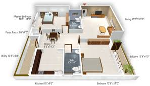 1215 sq ft 2 bhk 2t apartment for sale in 5 elements realty temple