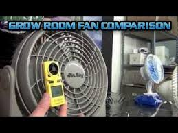 grow room oscillating fans grow room fan comparison test setup airking clip fan gro1 gro 1 air