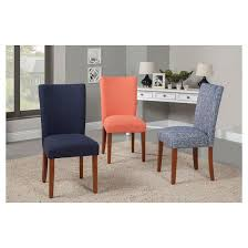 Target Parsons Chair Parson Dining Chair Wood Set Of 2 Homepop Target
