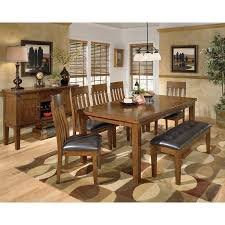ralene dining room set w bench signature design by ashley