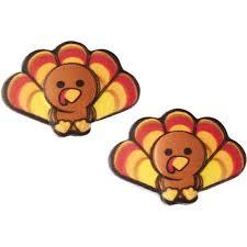 thanksgiving turkey icing decorations wilton