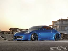 Nissan 350z Blue - 2003 nissan 350z track modified magazine