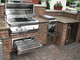 Outdoor Bbq Kitchen Cabinets Plain On Kitchen Home Design - Outdoor bbq kitchen cabinets